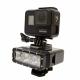 Underwater LightTelesin for GoPro installed HERO7 Black