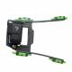 Крепление GoPro на стропы кайта CAMRIG з HERO7 Black вид сбоку