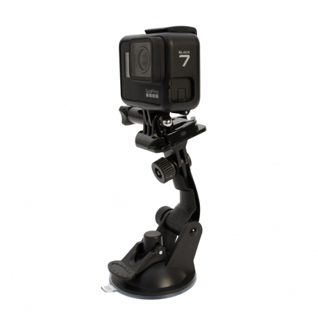 Suction Cup Mount for GoPro Glass with HERO7 Black Camera