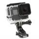 Поворотное крепление-защелка для GoPro - Quick Release J-Hook Buckle, с камерой общий план