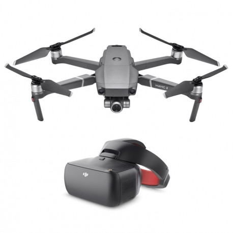 Квадрокоптер DJI Mavic 2 Zoom + DJI Goggles Racing Edition, главный вид