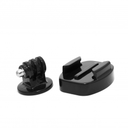 Set of monopod mounts for GoPro