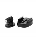 Set of monopod mounts for GoPro