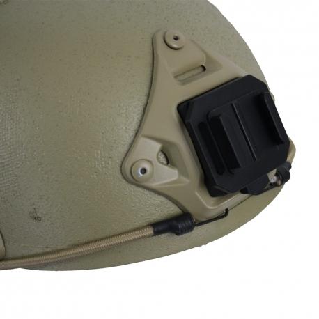 Крепление для GoPro на военный шлем (NVG) (надето на шлем)