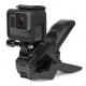 Крепление зажим Jaws для GoPro, с камерой