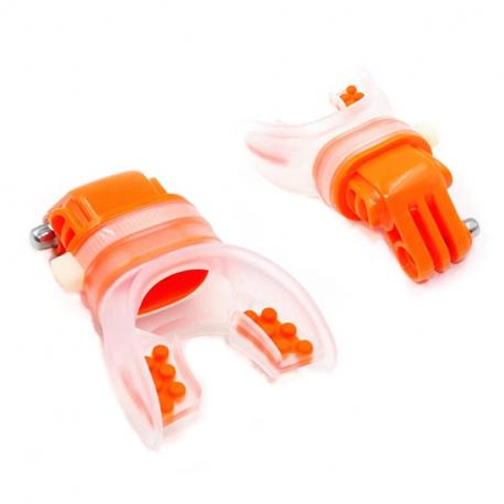 Крепления для GoPro в зубы оранжевый