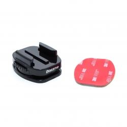 360° rotating flat adhesive mount for GoPro