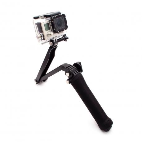 Складной монопод для GoPro 3-Way (надета HERO3)