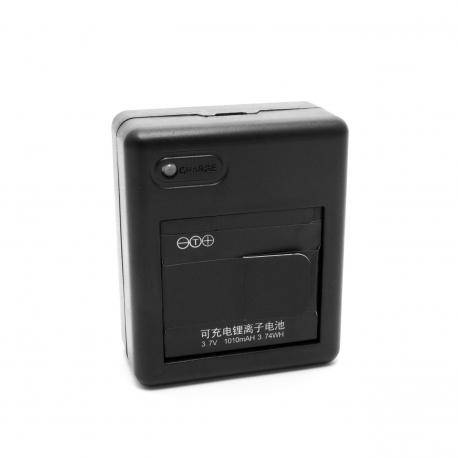 USB зарядка на 2 батареи для Xiaomi Yi - Dual Charger (вид спереди)