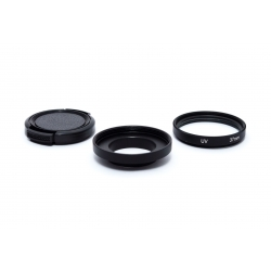 37 mm filter adapter with UV filter for GoPro
