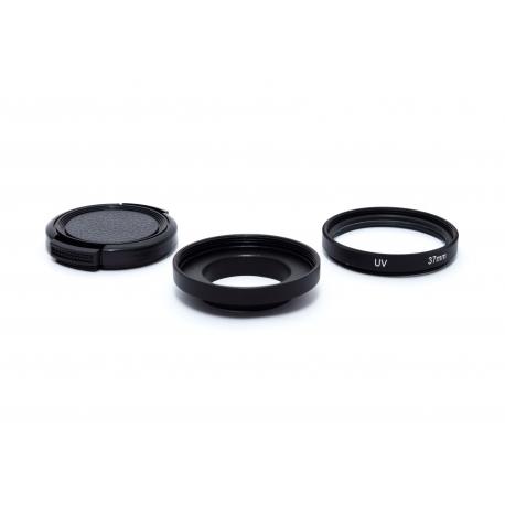 Переходник на 37мм c УФ фильтром для GoPro (набор)