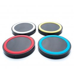 Универсальное беспроводное зарядное устройство QI Q5 (все цвета)