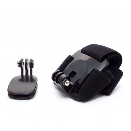 Набор кріплень для GoPro на голову і кепку (крупний план)