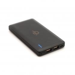 Беспроводной аккумулятор QI PowerBank (usb порты)