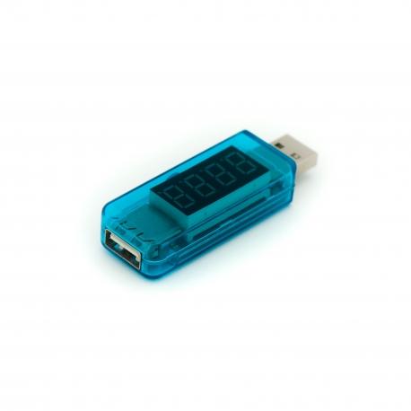 USB-тестер 2-в-1 прямой (вид сверху)