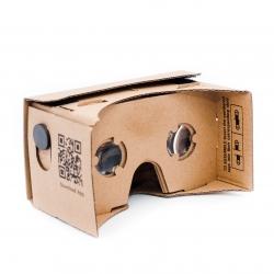 Очки виртуальной реальности Cardboard (ид сзади)