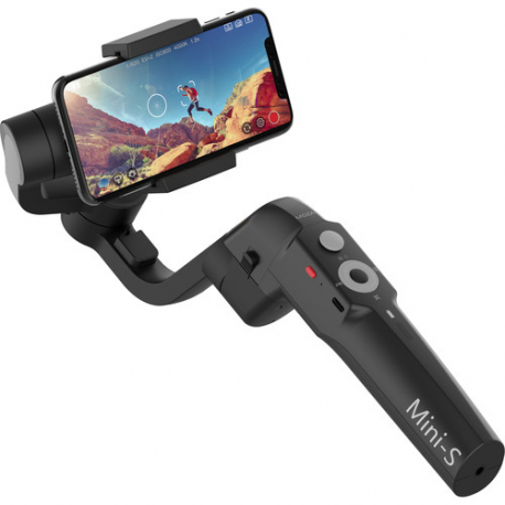 Moza Mini-S Essential Smartphone Gimbal (Black), close-up