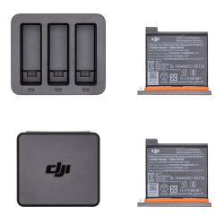 Интеллектуальный зарядный хаб с двумя батареями DJI OSMO Action Charging Kit