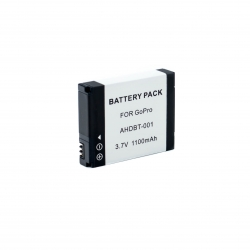Battery pack for GoPro Hero 2/1 (AHDBT-001)