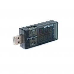 USB-тестер 2-в-1 параллельный (usb порт)