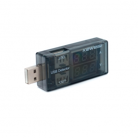 USB-tester 2-in-1 parallel