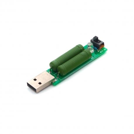 2A / 1А резистор для USB-тестера (загальний вигляд)