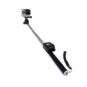 Monopod 109 cm with clip mount for GoPro remote