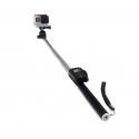 Монопод 109 см с креплением-клипсой для пульта GoPro (вид сбоку)