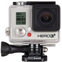 Экшн-камера GoPro HERO3+ Black Edition (крупный план)