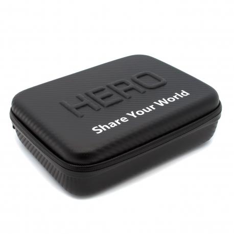 Кейс для GoPro средний под карбон (внешний вид)