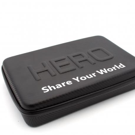 Кейс для GoPro большой под карбон (крупный план)