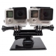 Крепление для двух GoPro (вид спереди)