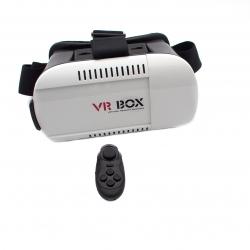 Очки виртуальной реальности VR BOX с джойстиком (крупный план)