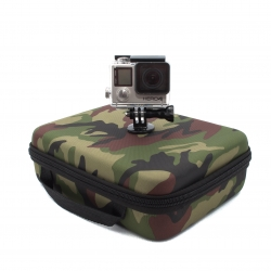 Medium size protective case for GoPro (military)