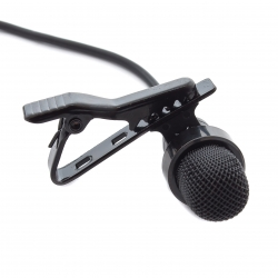 Mini USB microphone for GoPro