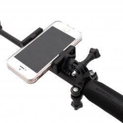 Крепление смартфона на монопод с GoPro