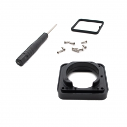 Housing glass replacement for GoPro HERO4 and HERO3+