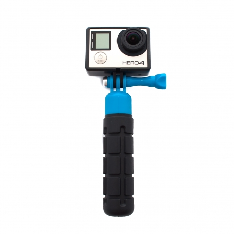Прорезиненная рукоятка для GoPro - Grenade Grip (синий)