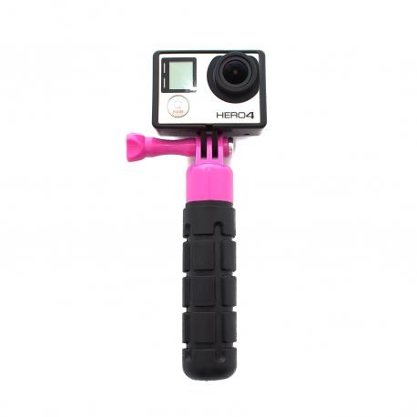 Прорезиненная рукоятка для GoPro - Grenade Grip (розовая)