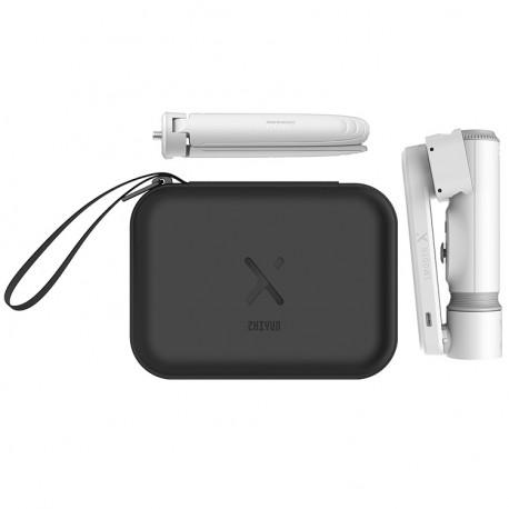 Стабилизатор для смартфона Zhiyun Smooth-X Combo Kit, белый со штативом и кейсом