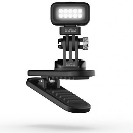 Подсветка GoPro Zeus Mini на магнитном зажиме, общий план