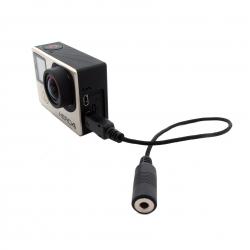 Адаптер-переходник 10 пин с чипом для GoPro микрофона (гнездо)