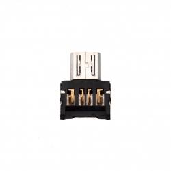OTG адаптер USB - microUSB