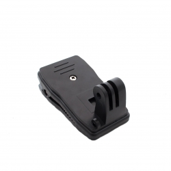 Rotating quick clip mount for GoPro