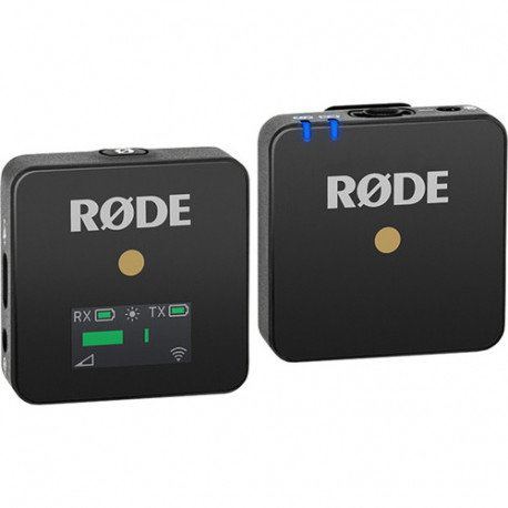 Беспроводная микрофонная система Rode Wireless GO, черная внешний вид