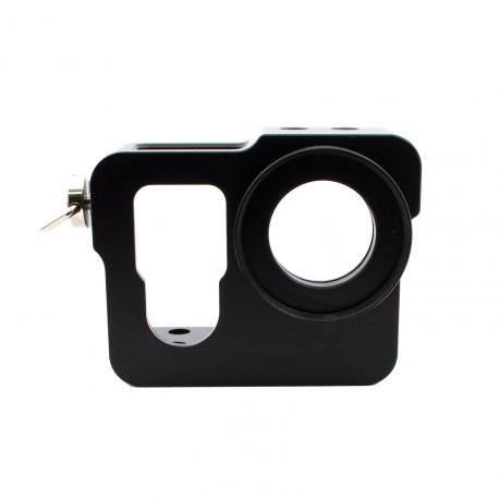 Алюминиевый корпус для GoPro 4 (черный)