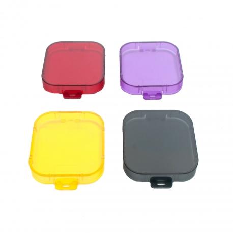 Набір фільтрів для GoPro HERO3 (повний) (чотири кольори)