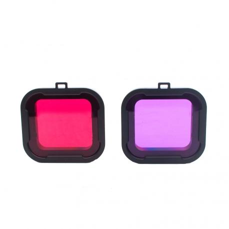 Набор подводных фильтров для GoPro HERO4 (базовый) (два цвета)