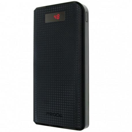 Портативное зарядное устройство Remax 20000mAh Leader Series, black, главный вид