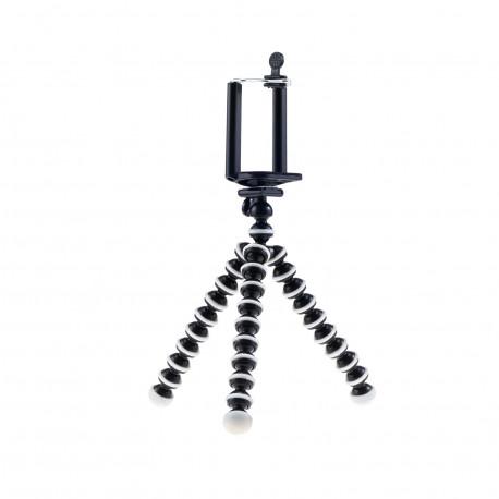 Гибкий штатив - осьминог (размер S) для GoPro и телефона